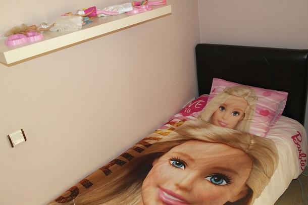 barbie ev tekstil ürünleri