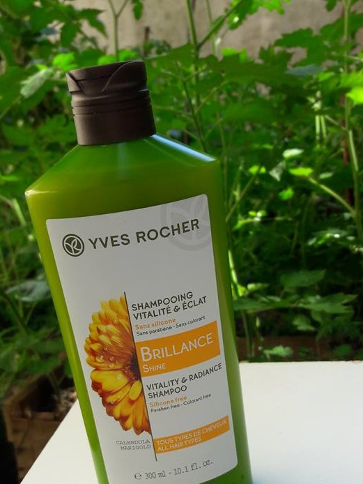 yves rocher brillance shine shampoo