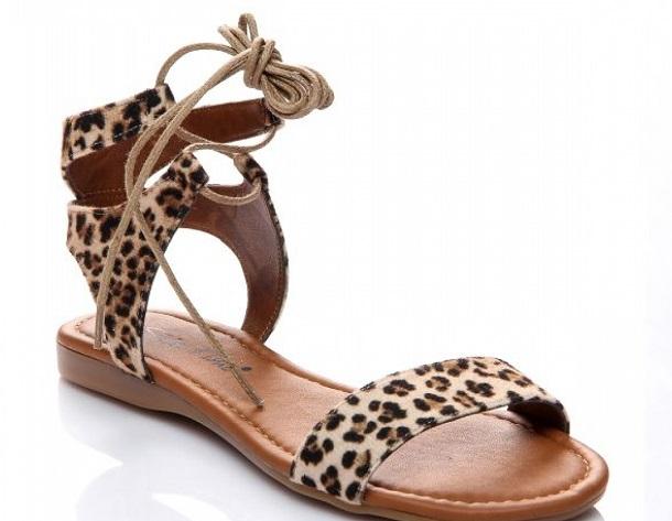 leopar desenli sandalet, leopar yazlık ayakkabı