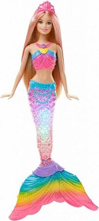 Barbie ışıltılı gök kuşağı deniz kızı