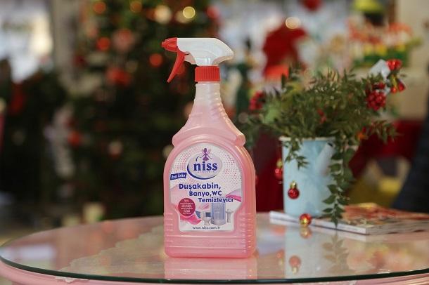 wc ve duşakabin temizleyici, niss temizlik ürünleri