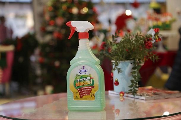 temizlik sirkesi, sirkeli temizlik ürünleri, niss sirkeli temizlik