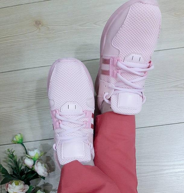 pembe sneaker, pembe spor ayakkabı