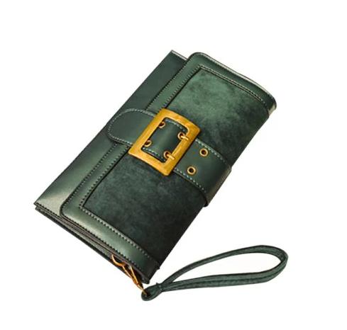 yeşil küçük el çantası