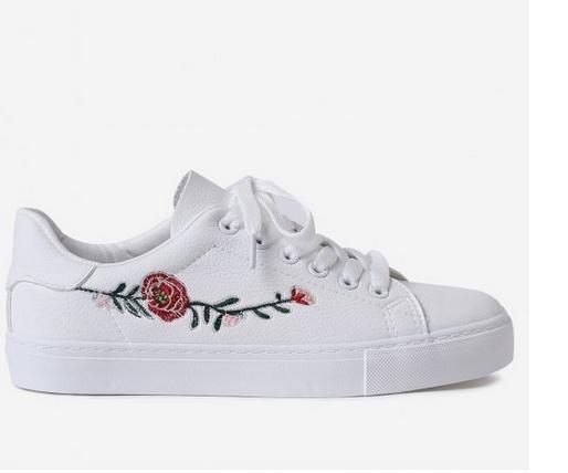 beyaz spor aykkabı, sneakers