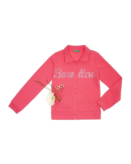 seat, kız çocuk sweat, pembe, benetton, çocuk sweatshirt