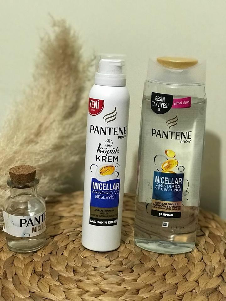 Pantene Pro-V Micellar Arındırıcı & Besleyici şampuan