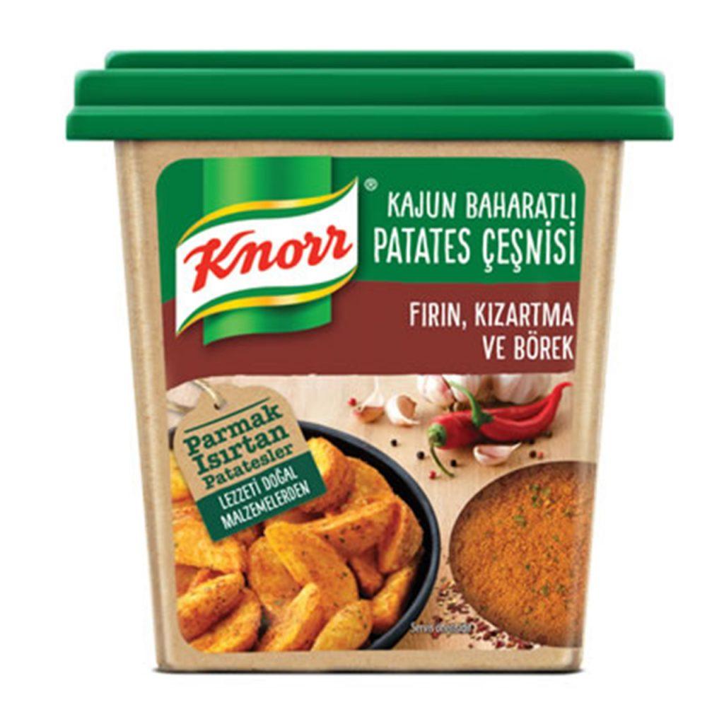 Kajun Baharatlı Patates Çeşnisi