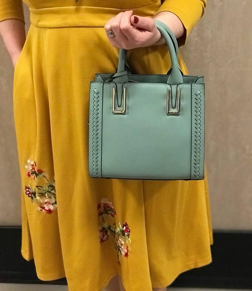 küf yeşili çanta