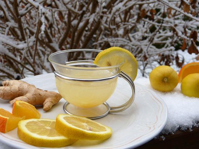 zencefil, ginger, lemon, limon, c vitamini