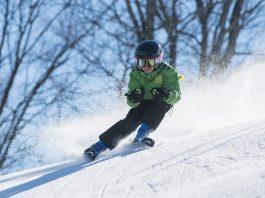 kayak, kış, kar