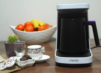 altus türk kahve makinası