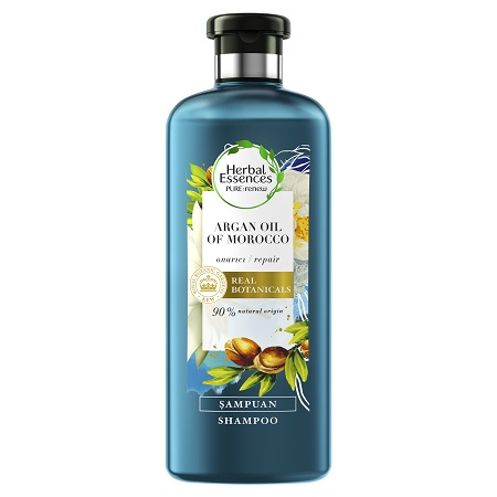 Herbal Essences PURE renew Fas Argan Yağı serisi şampuan şampuan