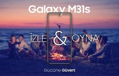 Galaxy M31s cep telefonu