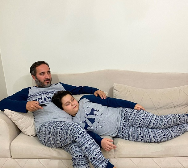 baba oğul pijama takımı