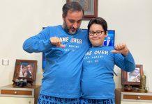 game over pijama takımı