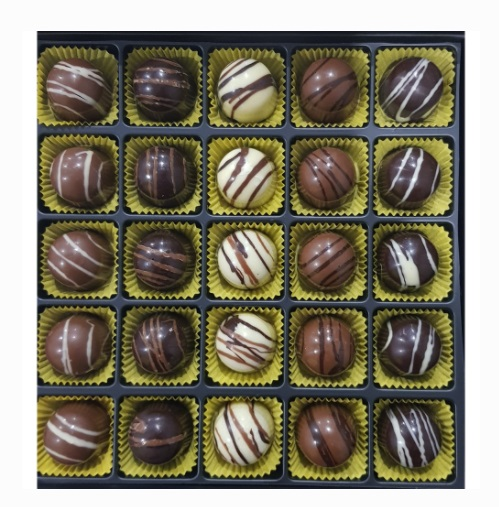 dolgulu çikolata
