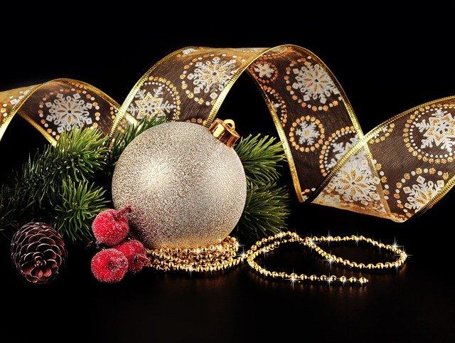 yeni yıl dekoratif obje