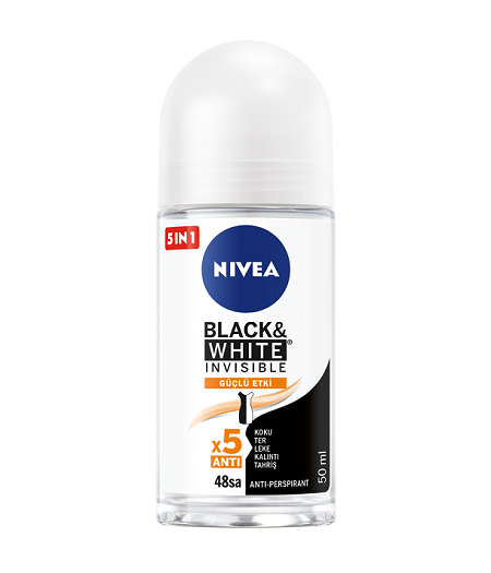 nivea black white rollon