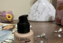 clara line soft touch vitamin e foundation