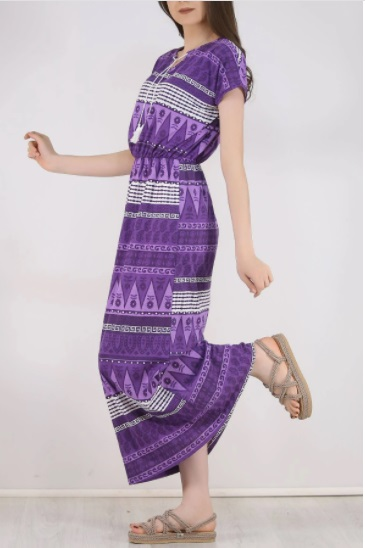 uzun-sıfır-kol-kadın-elbise