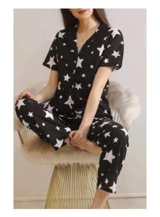 yildizli-kadin-pijama-takimi