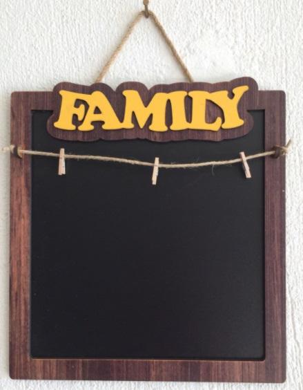 mandallı kara tahta